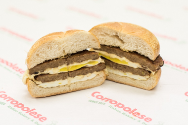 Corropolese Breakfast Sandwiches